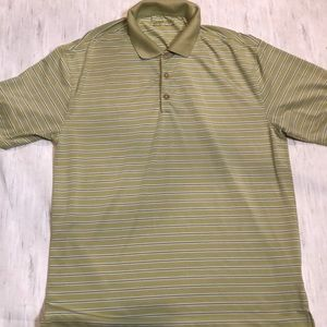 4/$25 Nike Dry Fit Golf Shirt. Size Large.